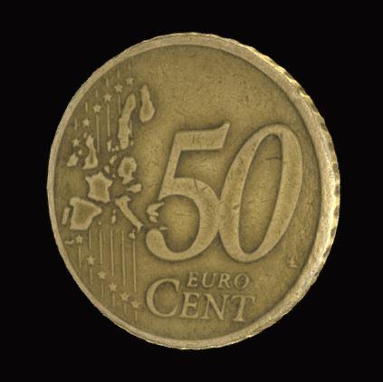 Moeda 50 cent. Grecia